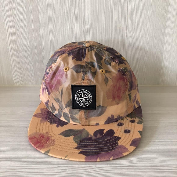 b06a754d Supreme Accessories | Stone Island Lamy Floral 6 Panel Hat Nwt ...